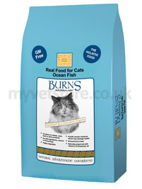 Burns Adult Cat Fish & Rice